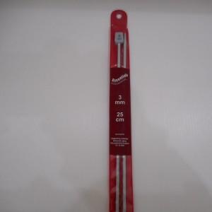 3mm Knittting Needles 25cm Long