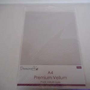 A4 Vellum pack
