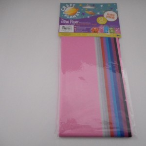 Assorted Colours Tissue Paper