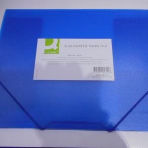 Blue Elasticated File