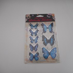 Blue and Black Butterflys