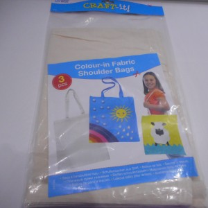 Colour In Fabric Bags