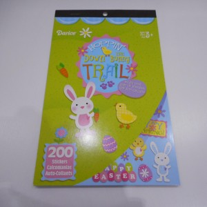 Easter Sticker Books