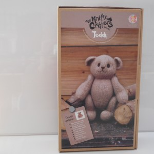 Knitty Critters Brown Teddy