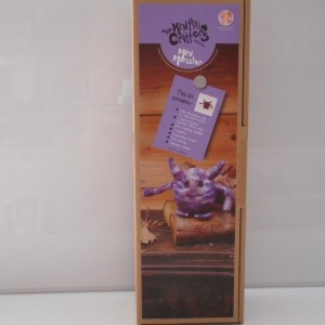 Knitty Critters Mini Monster Purple