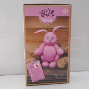 Knitty Critters Pink Bunny
