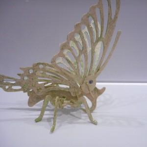 Made 3D Wooden Butterfly
