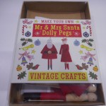 Mr And Mrs Santa Peg Kit
