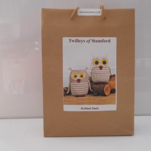 Mr and Mrs Knitted Owls