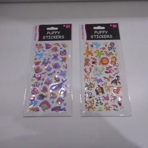 Puffy Stickers Collection