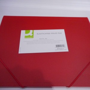 Red Elasticated File