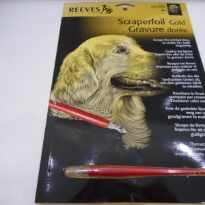Scraperfoil Golden Lab