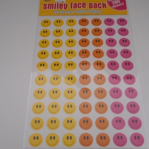 Smiley Face Peel Offs