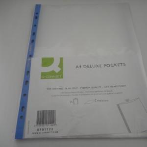 a4 blue pockets