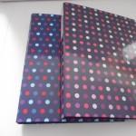 a4 file polka dot