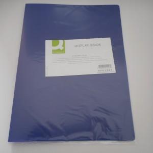 blue pocket folder