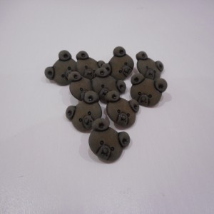 brown bear buttons
