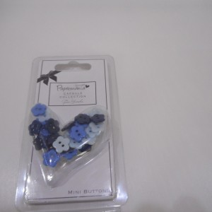 capsule mini blue daisy