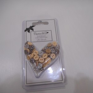 capsule mini buttons brown