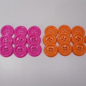 clown button collection