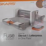die cut letter press
