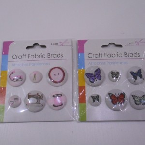 fabric brads collection