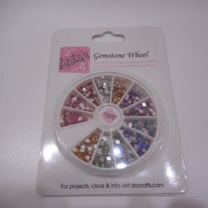 gemstone wheel pink