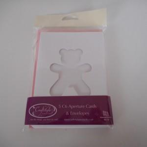girl teddy card