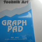 graph paper pad