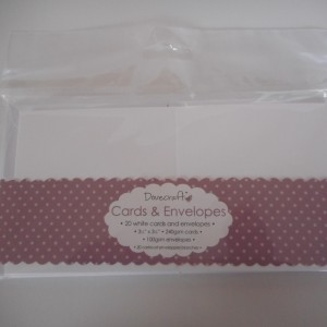 mini card and envelope