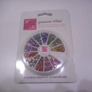 multi coloured gemstone