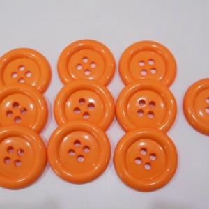 orange clown buttons