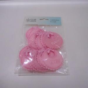 pink baby bibs