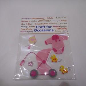 pink baby embellishments