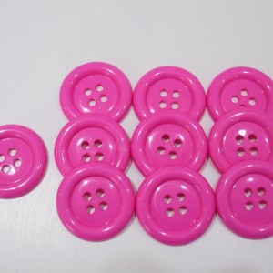 pink clown butons