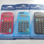 pocket calculator collection