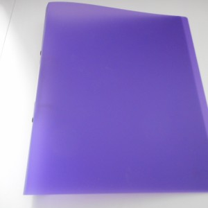 purple folder a4