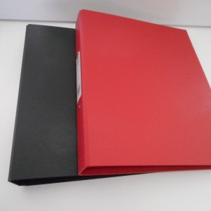 red black a4 file collection