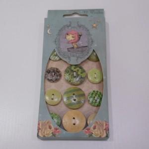 santoro wooden buttonss