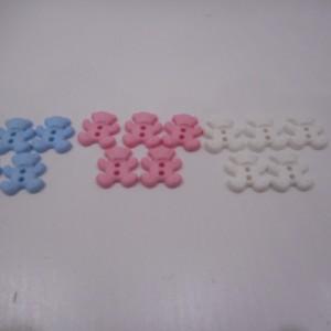 teddy bear button collection