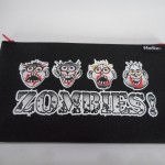 zombie pencil case